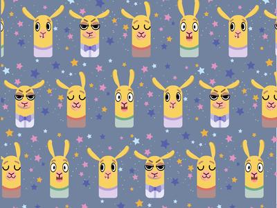 Lamas  pattern