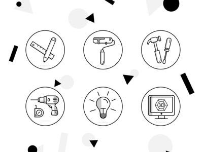 Icon for repair bureau