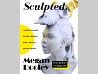 """""""Sculpted"""" Magazine Cover"""