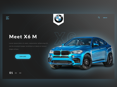 UI BMW website redesign bmw website branding blue websites uidesign ui design ui bmw redesign bmw redesign website webdesign auto auto website car website car website design car bmw website design web design website