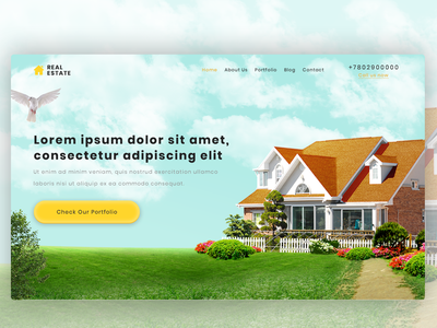 UI Real estate website design website banner ui company company website real estate website design real estate website real estate realestate template webdesign design designer ui design uidesign websites web website design website web design