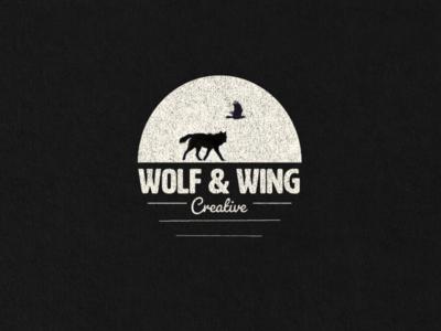 Wolf & Wing Creative Logo