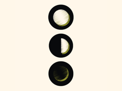 Moon Phase Icons
