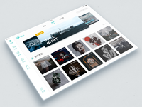 Music App 04 - Ipad UI