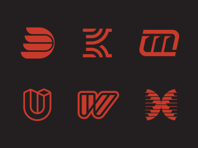 Letters letters letters logomark logo design typeface lettering letters type design