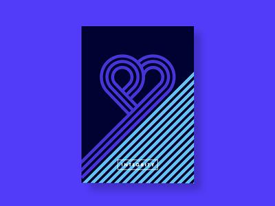 Poster Integrity branding love heart heart poster design poster art poster