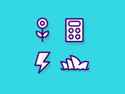 Fun icons icon design iconography icon set icons icon