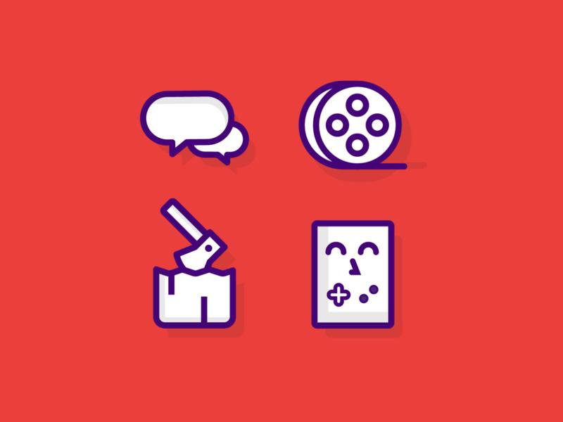 Fun Icons icon design icon set iconography icons icon