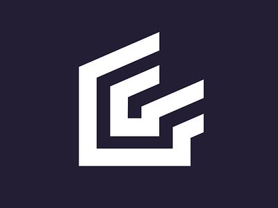 Griffiths Developments logo simple logo thicklines g letter builder logo building logo house logo house logo