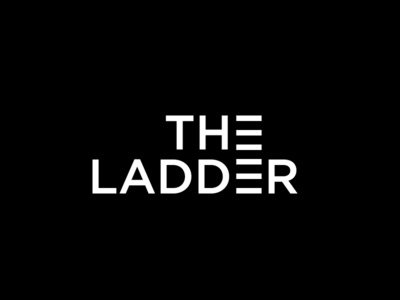 The Ladder black and white ladder simple simple logo logo design logo
