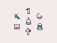 Wedding Table Icons
