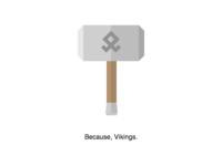 Viking Hammer in CSS