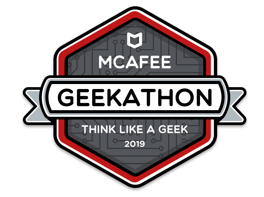 McAfee Geekathon 2019 Logo by Bryce Snyder | Dribbble | Dribbble