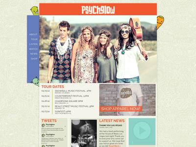 Psychglow Website 1