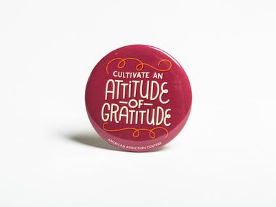 Cultivate an Attitude of Gratitude Pin