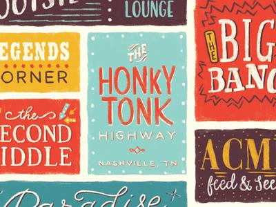 Nashville Honky Tonk Highway