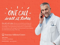 One Call Postcard Advertisement