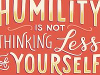 2019 Calendar: Humility