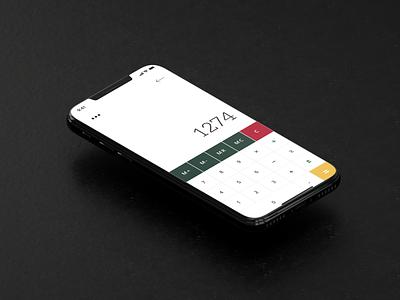 Braun BNE001 Calculator App Concept graphic design app design app webdesign web website design product design user interface user experience ui ux