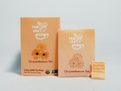 Packaging Design - Chrysanthemum Tea Box