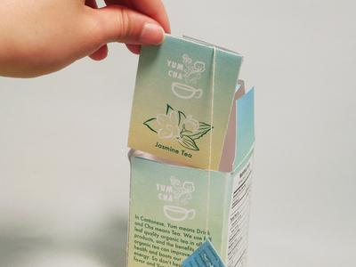 Packaging Design - Jasmine Tea Box