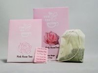 Packaging Design - Pink Rose Tea Box