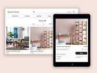 Web & UI Design - Furniture