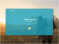 Journey, Trip, Travel Site. showcase