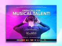 Banner Design For Levels Music Festival
