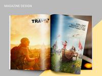 Travel Today Magazine Design