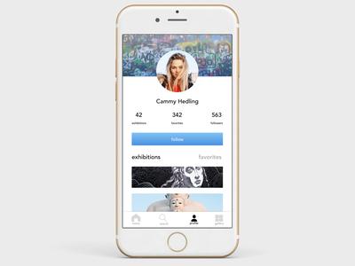 Art App User Profile