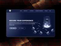 Security tools landing page