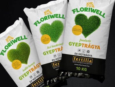Fertilizer packaging- and logo design