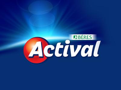 Logo redesign competition dietary supplement vitaminlogo actival logo logodesign