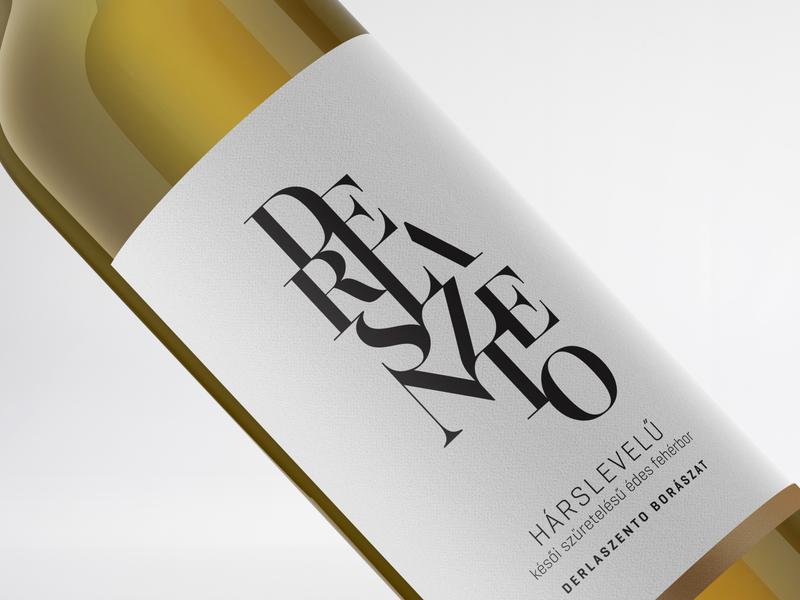 Logo design for a hungarian vinery blackandwhite labeldesign typographyinspiration typography branding logodesign typologo winelabel winelogo vinery vnerylogo