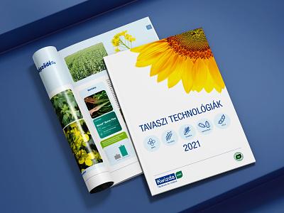 Editorial design - agricultural brochure brochuredesign layoutdesign editorialdesign design