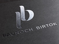 """Logo design for a hungarian vinery - """"PB"""""""
