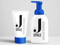 Logo and packaging design for facial care products
