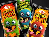 Snack packaging design (for kids)