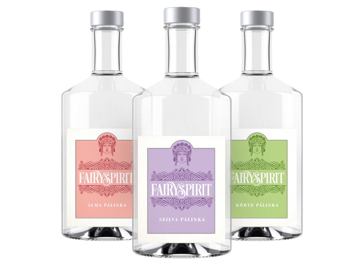 "Labeldesign - hungarian spirits ""pálinka"" packagingdesign alcohollabel labeldesign spiritlabel"
