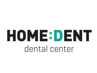 Logo design for a dental center smiley typologo logodesign