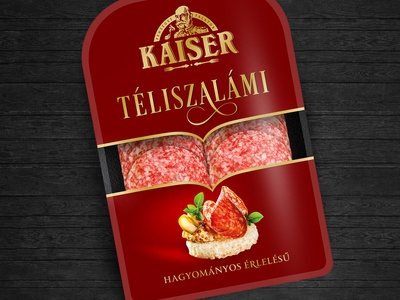 "Packaging redesign - ""Kaiser"" hungarian coldcuts"