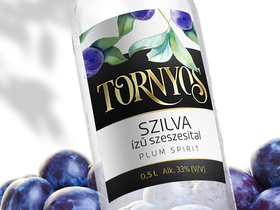 Label design for a hungarian traditional drink