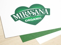 "Logo design for ""Mirasana"" (healthy food)"