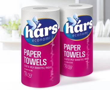 Paper towels packaging design
