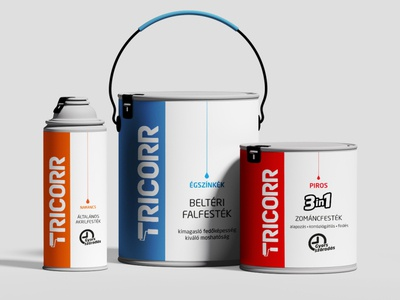 "Logo and packaging design ""TRICORR"""