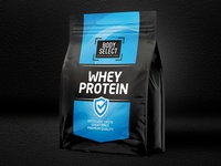 Logo and packaging design - Whey protein