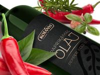 Pepper seed oil labeldesign