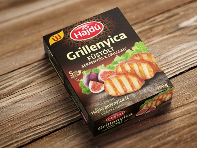Grillcheese packaging design