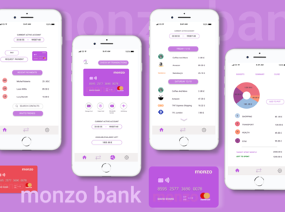 monzo redesign concept